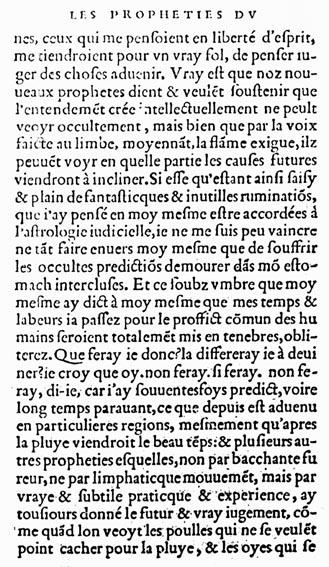 Couillard, Propheties, Le Clerc, 1556, f.E1v