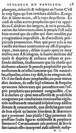 Couillard, Propheties, Le Clerc, 1556, f.E2r