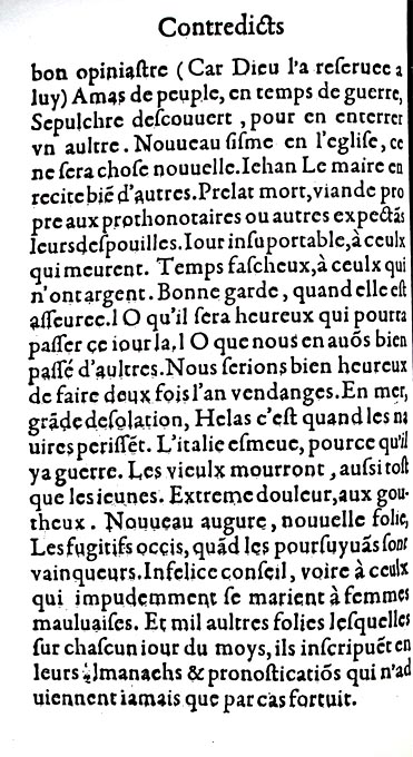 Couillard, Contredicts, Charles l'Angelier, 1560, f.D3v