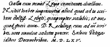 Nostradamus, Correspondance manuscrite, lettre 51, f.133r