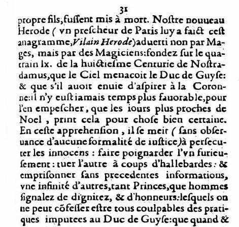 Contre les fausses allegations, 1589, p.31